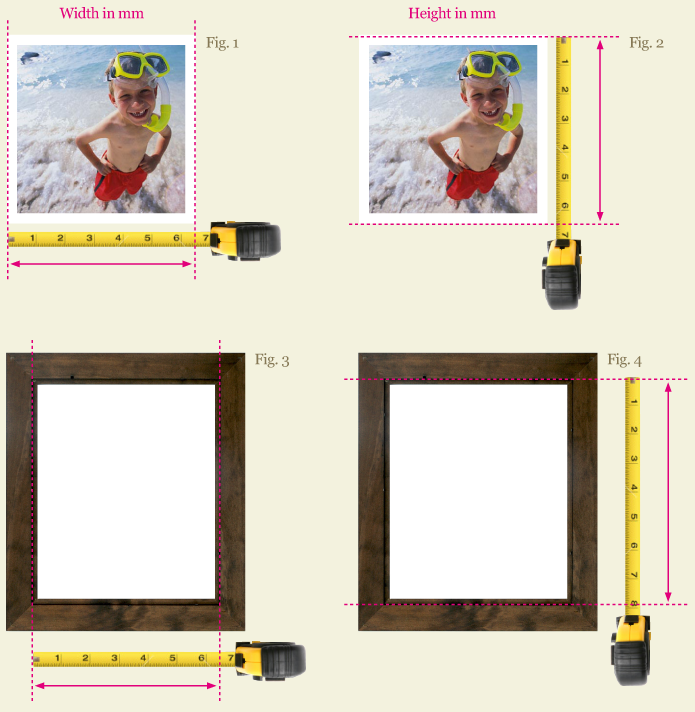Measuring a photo correctly FrameStudio