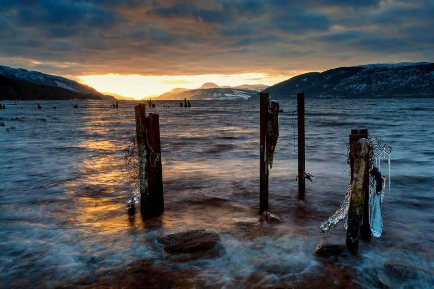 Loch Ness, Dores