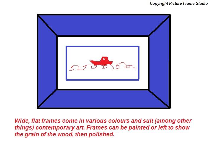 Wide frames